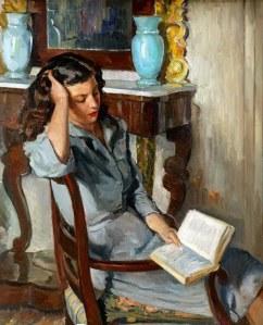 lady-reading